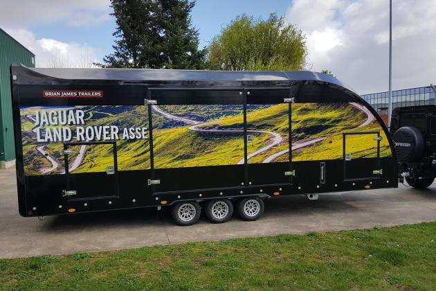 Trailer Land Rover Asse ()